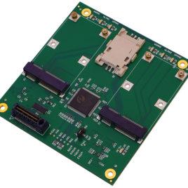 PX1-N416 PC/104 OneBank Dual Mini-PCIe adapter
