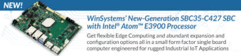 WinSystems' SBC35-C427 Industrial SBC