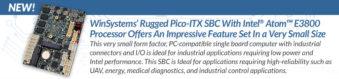 Single Board Computer PICO ITX with Intel