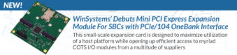 WinSystems PX1-I416 Expansion Card