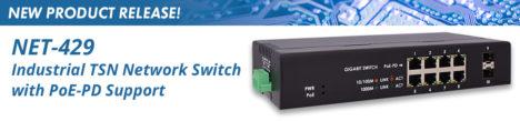 Industrial TSN Network Switch