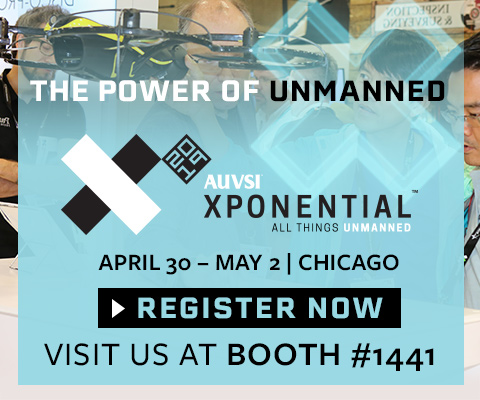 Register to attend AUVSI XPONENTIAL 2019