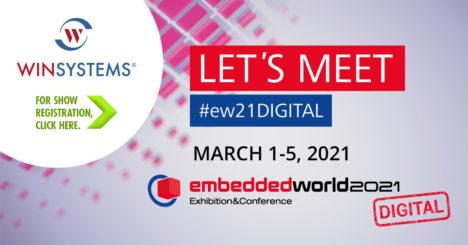 Graphic depicting Embedded World 2021-Digital Show Registration