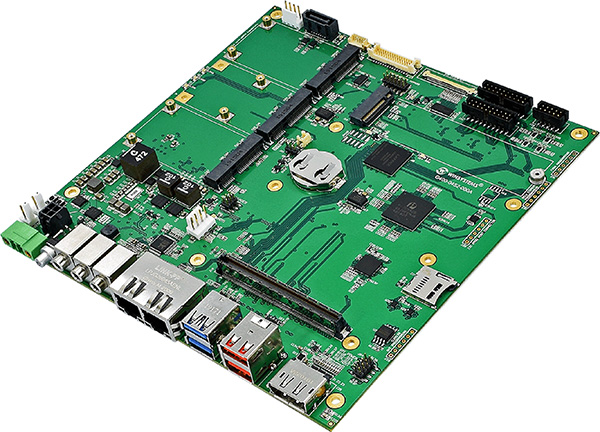 Mini-ITX Type 10 industrial reference carrier board
