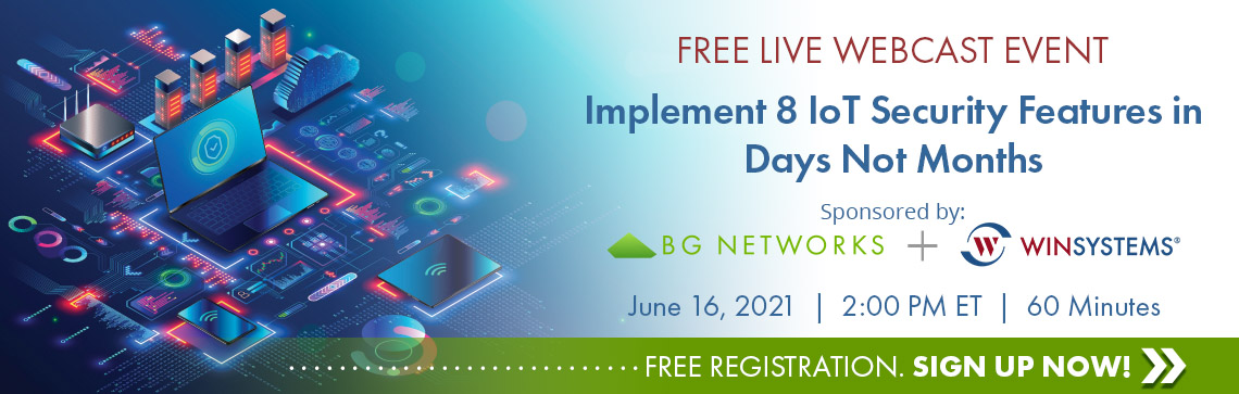 Free Live Webcast on Embedded Cypersecurity