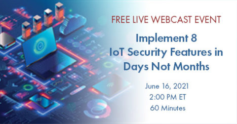 Free Embedded Cybersecurity Webcast