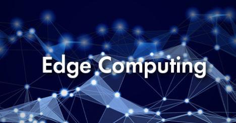 Abstract image depicting Edge Computing mesh network